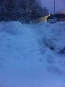 mer snö