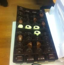 Chokladask 4 hos admingruppen