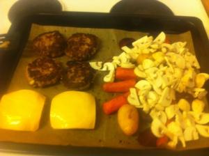 Lördag - middagslagning