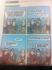 Måndag - kul i tidning