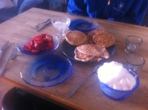 Söndag - pannkaksfrukost