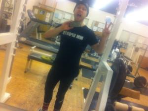 Efter squats och viktade pullups