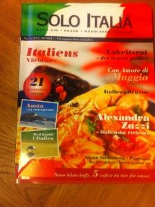 Italieninspiration en fredagskväll