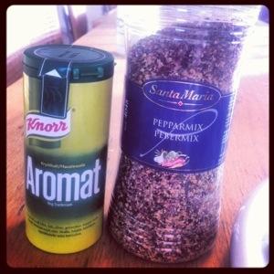 Godkryddor - tyvärr socker och skräp i Aromaten