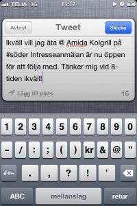 Amidasällskap - Twitter