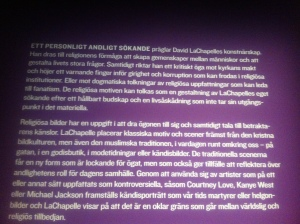 David LaChapelle på fotografiska 4