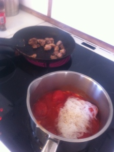 Lunch - tillredningsprocessen