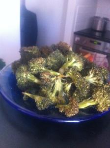 Söndagsmatlagning - broccoli