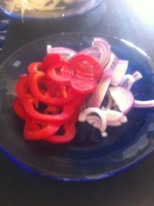 Söndagsmatlagning - grönsaker