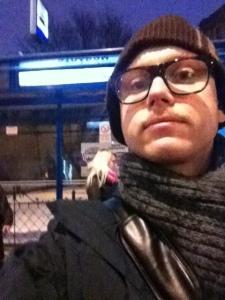 Väntar på tåg