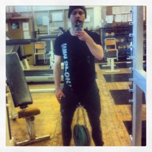 Gym viktade dips