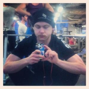 Gymträning - squat-vila mellan squatsen