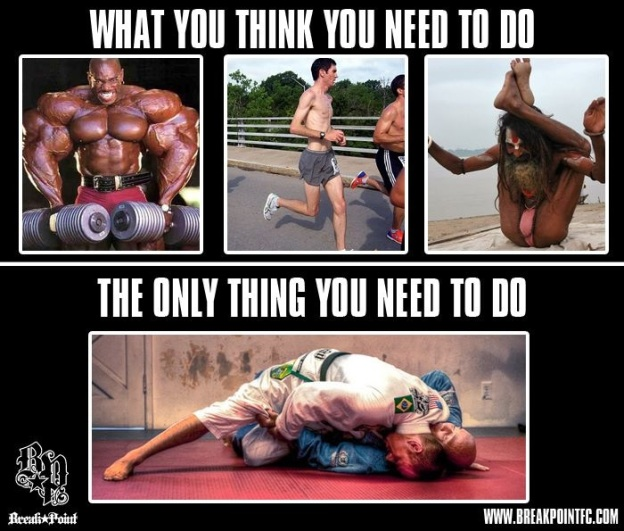 JiuJitsu is all you need