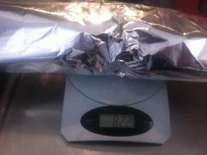 Matlagning - kebabrulle vikt innan 3h30min i ugnen