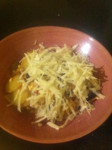 Potatiskesogratäng med den glömda parmesanen
