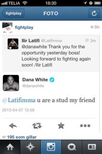 UFC - håller inte riktigt med