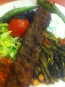 Amida grönsakskebab