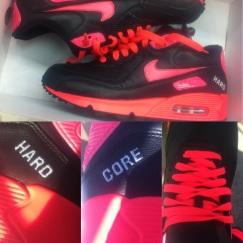 Nya sneakers - hard core