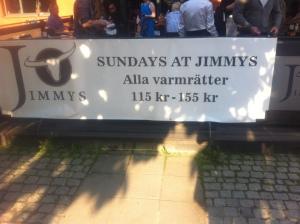 Södertips - Söndagar på Jimmy's SteakHouse