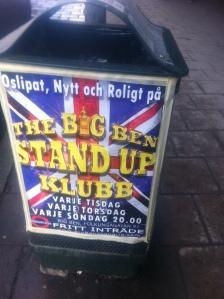 Södertips - Standup på Big Ben