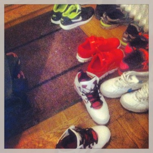 Vadå städa upp bland mina sneakers