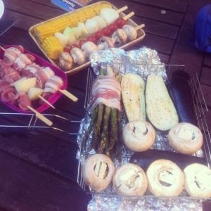 Grillförberedelser