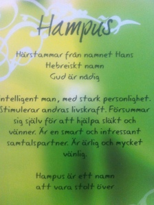 Hampus - egoboost