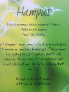 Hampus - egoboost