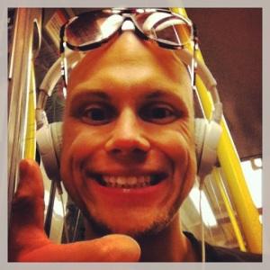 hamwid på tunnelbanan
