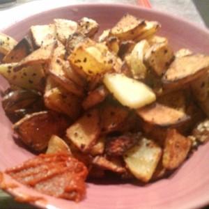 Potatis-med-Harissa